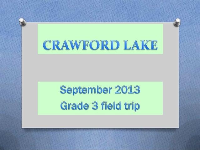 Crawford Lake 2013