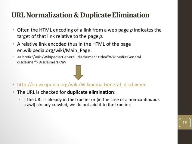 Web Crawling & Crawler
