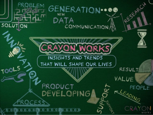 Crayon Works Insights and trends that will shapes our lives 1