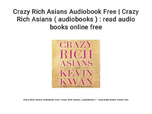 read crazy rich asians online free