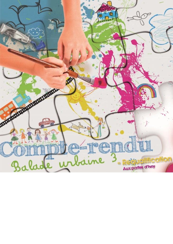 Dans le cadre de la révision générale du PLU d'Ivry-sur-Seine,trois balades urbaines ouvertes à l'ensemble de la populatio...