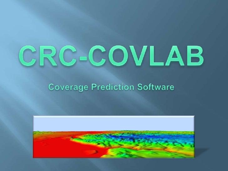 CRC-COVLAB<br />Coverage Prediction Software<br />