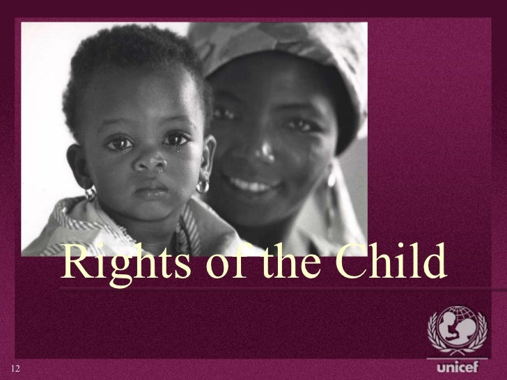 Rights of the Child       112