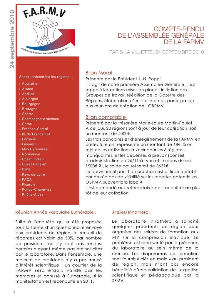 24 septembre 2010                                                                                    COMPTE-RENDU         ...