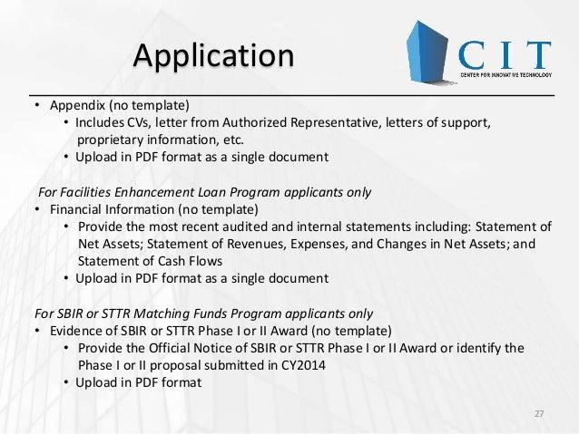 Cit Funding Sources Sbir Intro November 19 2014
