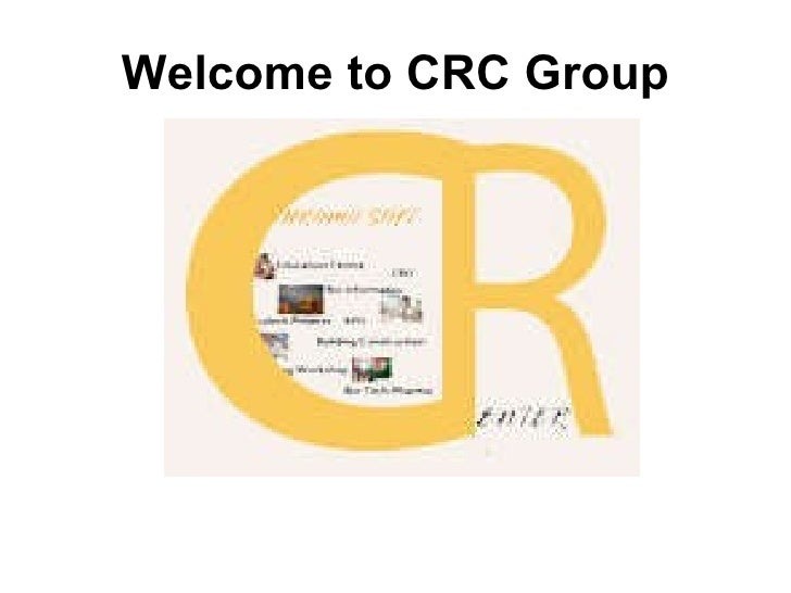 Welcome to CRC Group