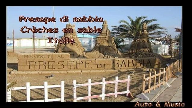 Crèches de sable