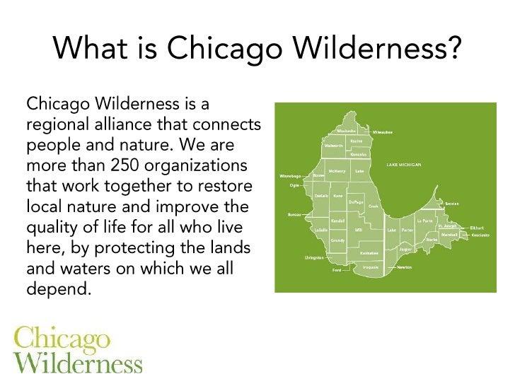 Isn't Chicago Wilderness an Oxymoron?