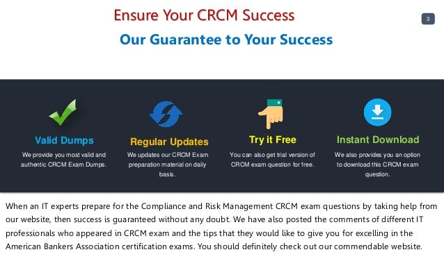 CRCM exam new questions - Buy validated CRCM Answers