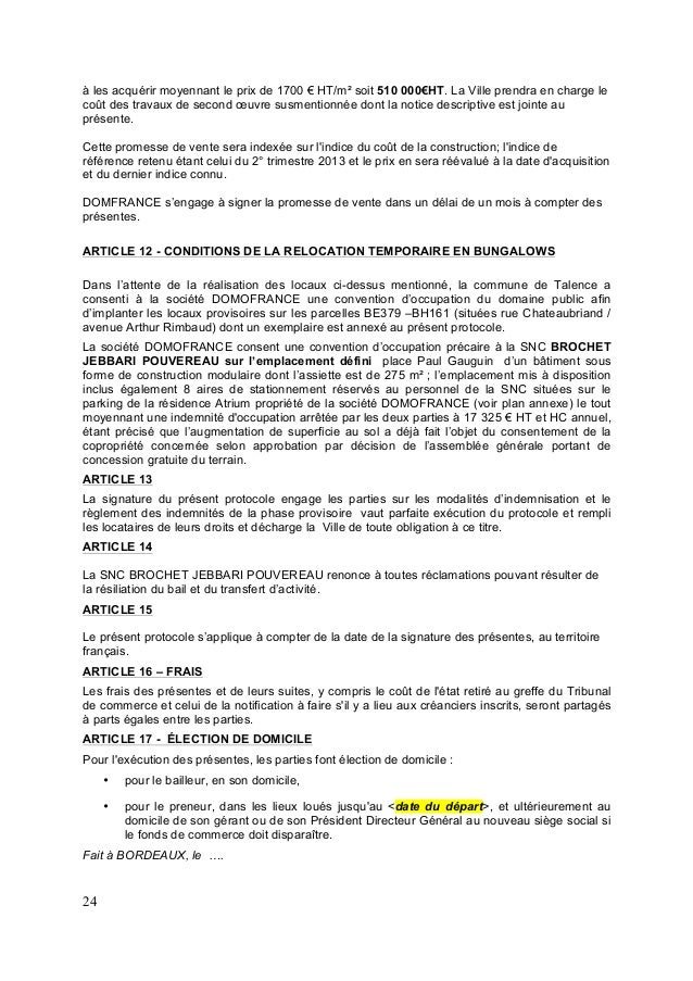 Cr cm du 16 janvier 2014 for Notice descriptive permis de construire