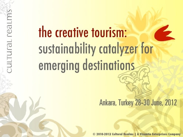 Creative tourism as a catalyst for sustainable development