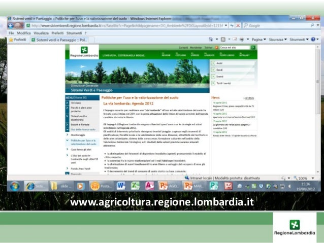 Proposte normative nazionali • Ddl «Catania» scorsa legislatura (soglie sup. consumabili, divieto mutamento destinazione s...