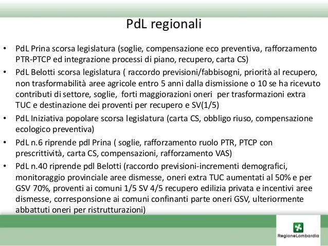 LA LEGGE L'ATTUAZIONE IL MONITORAGGIO GLI INTERVENTI 1 2 3 4 2/53 Provvedimenti già vigenti sul territorio Art.43 l.r. 12/...
