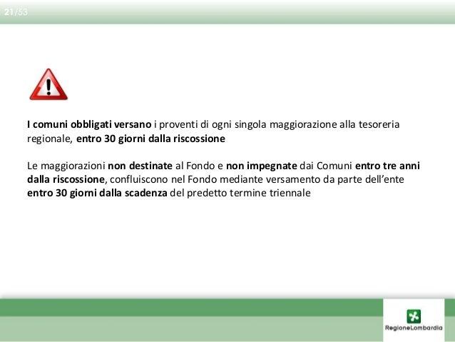 Dal 12/04/2009 i comuni devono riscuotere i proventi derivati dall'applicazione della norma per tutte le trasformazioni ch...