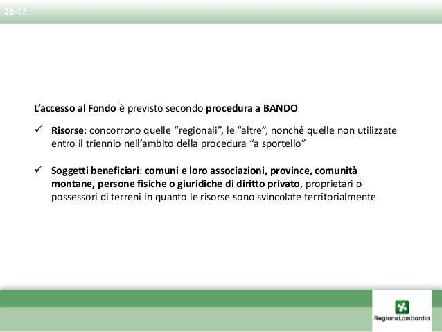 LA LEGGE L'ATTUAZIONE IL MONITORAGGIO GLI INTERVENTI 1 2 3 4 29/53