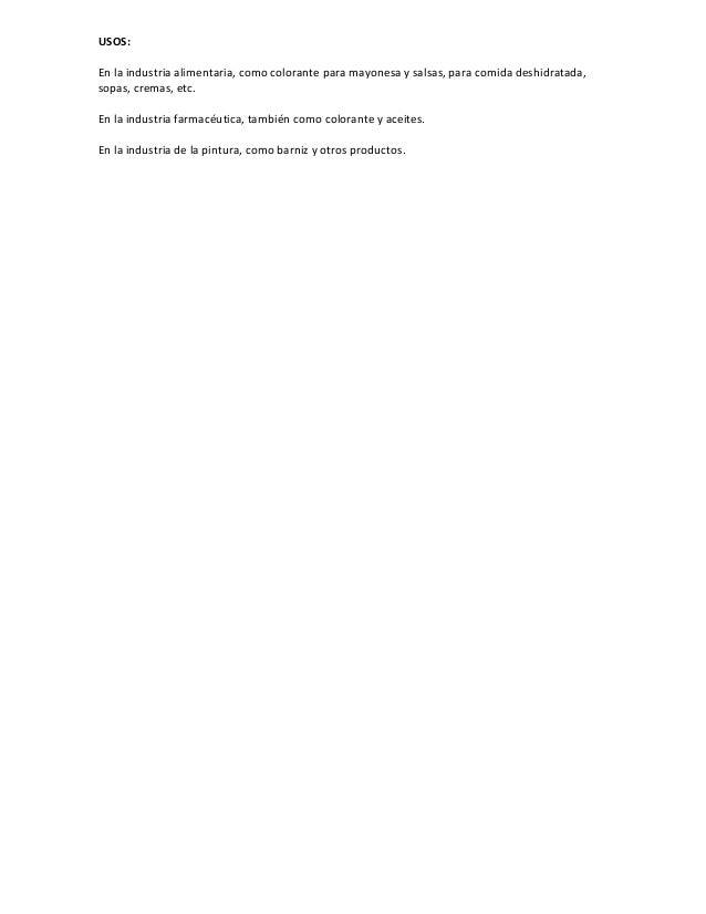 Curcuma. Ficha técnica Slide 2