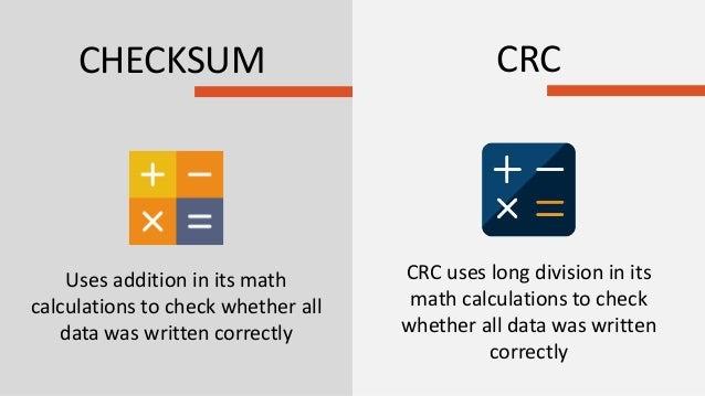 Crc Verification