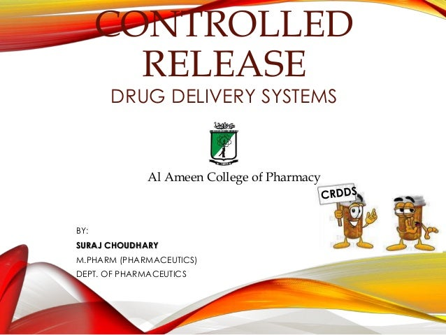 release medicinal drugs delivery