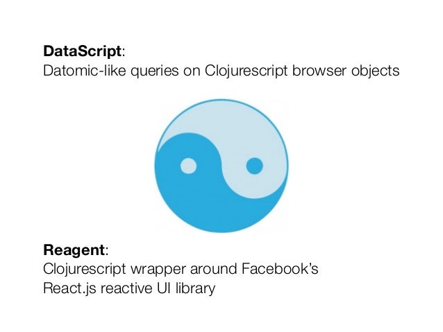 Getting Started With Datascript and Reagent Slide 2