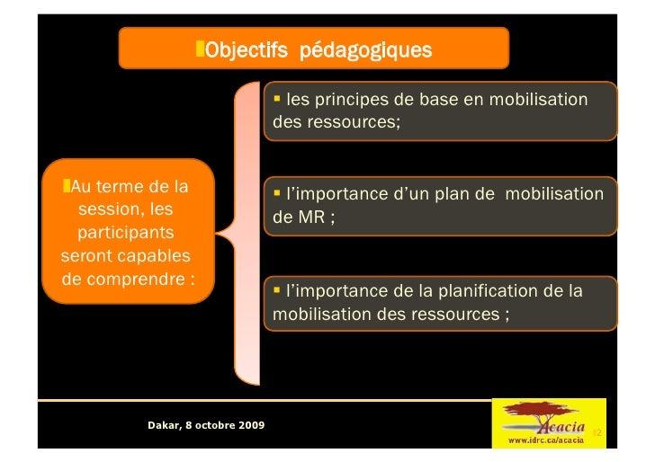 Tutorial 3: Mobilisation Resources Session 2 Slide 2