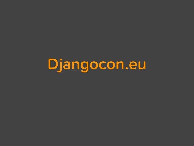 Djangocon.eu
