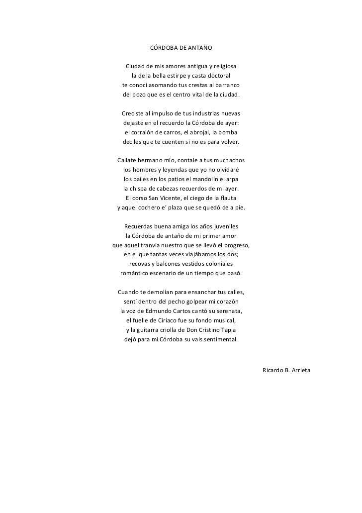 Córdoba de antaño