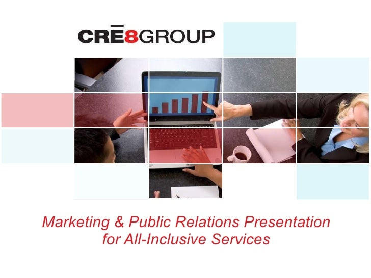 Marketing & Public Relations Presentation for All-Inclusive Services