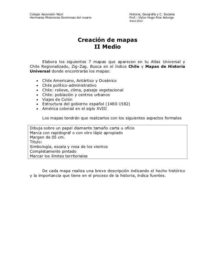Colegio Ascensión Nicol                            Historia, Geografía y C. SocialesHermanas Misioneras Dominicas del rosa...