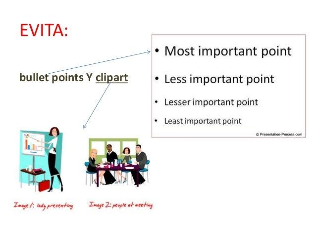 Incluye únicamente una idea por diapositiva
