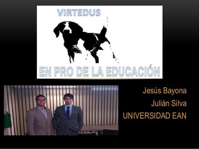 Jesús BayonaJulián SilvaUNIVERSIDAD EAN