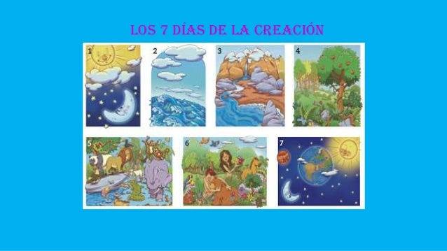 Creacion for En 7 dias dios creo el mundo