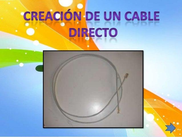 Materiales.• cable de red categoría 5• 2 conectores RJ45Herramientas.• crimpadora para RJ45• tijeras o alicatesProceso de ...
