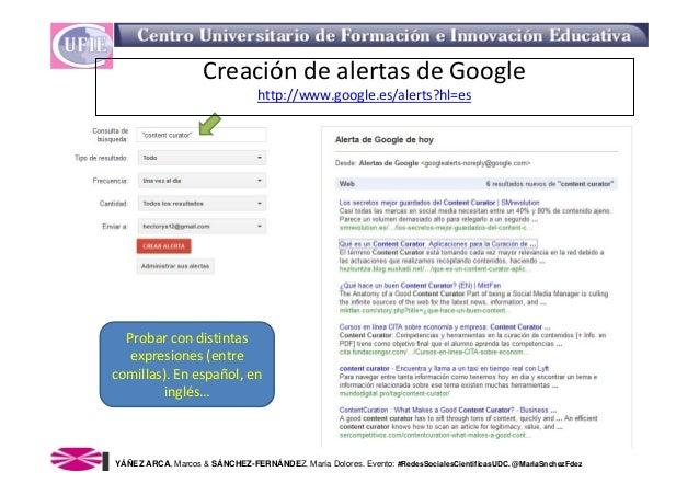 Creacion de alertas google Slide 2