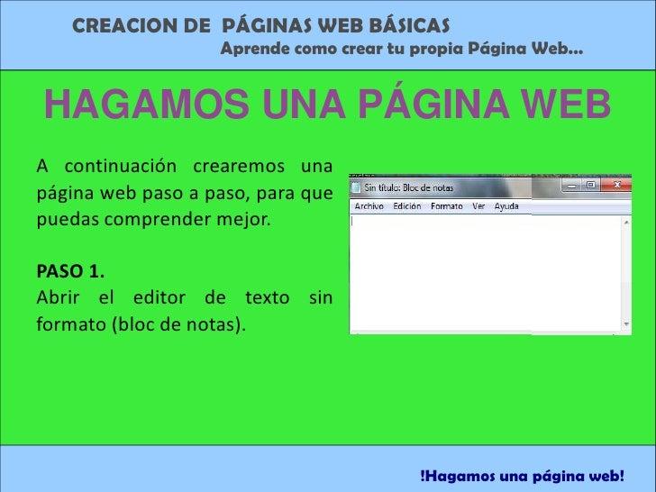 creacion de paginas web con html diana lopez