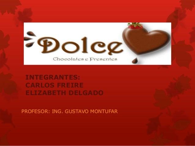 INTEGRANTES: CARLOS FREIRE ELIZABETH DELGADO PROFESOR: ING. GUSTAVO MONTUFAR