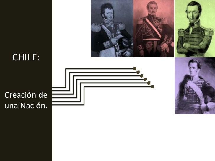 CHILE: <br />Creación de una Nación.<br />