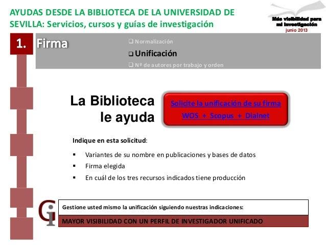 Creación y gestión del perfil del investigador, taller ... - photo#16