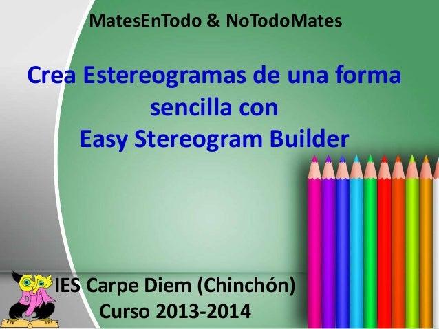 crea estereogramas