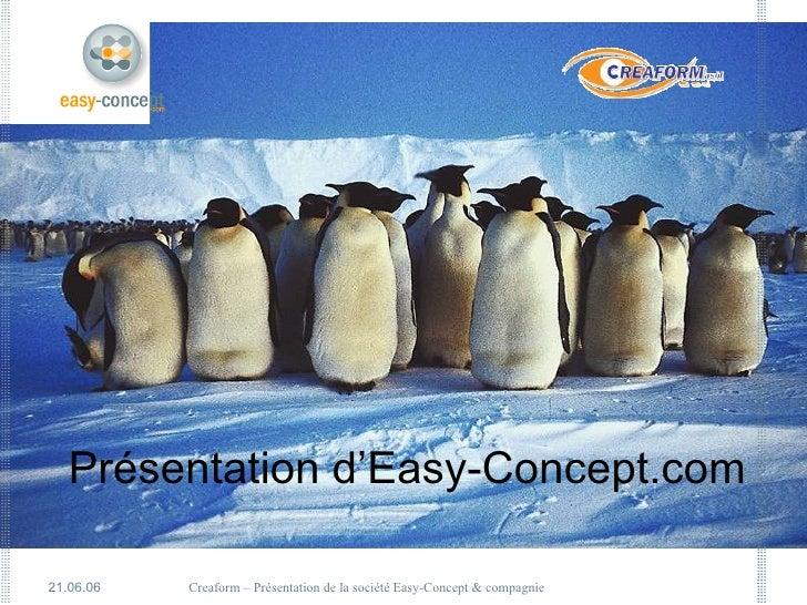 Présentation d'Easy-Concept.com