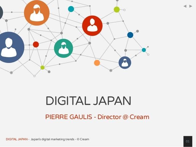 Digital (Internet, Social, Mobile) Japan Statistics Overview Slide 1