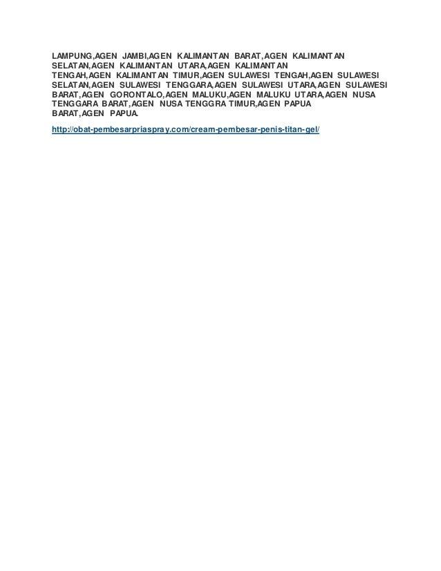 titan gel sulawesi tenggara pusat vimax com agen resmi vimax