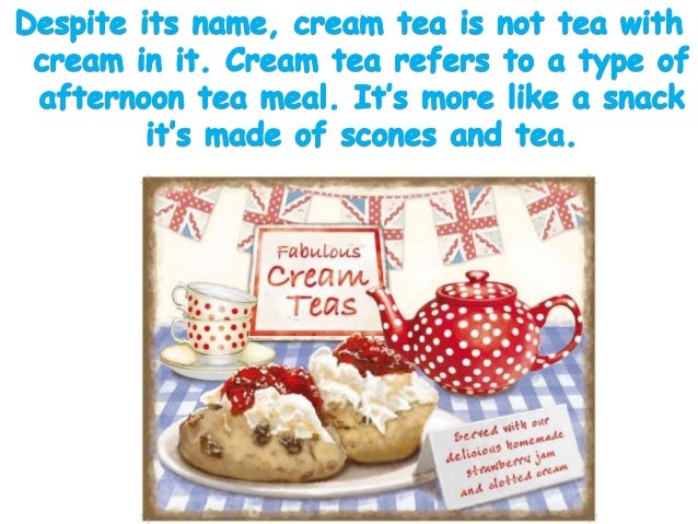 Both men and women enjoy afternoon tea in England because it is suitable for many celebrations. The food is generally pre...