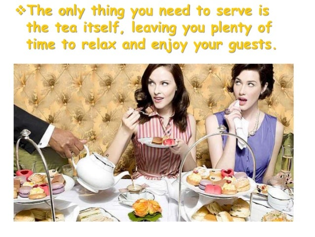 • By the beginning of the 20° century it became fashionable to serve cream teas.