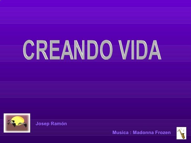 Josep Ramón Music a  : Madonna Frozen