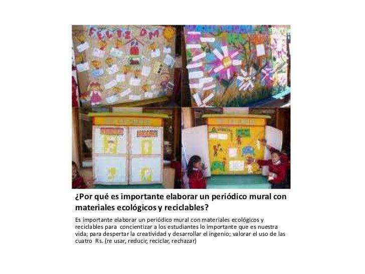 Creando peri dicos murales for Elaborar un periodico mural
