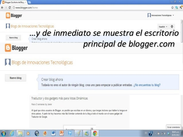 Cómo crear un Blog e