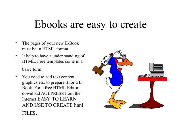 Creare a free ebook using html templates maxwellsz