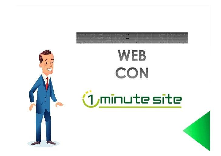 Prima di iniziare a creare il tuo sito web con1 Minute Site consulta questa semplice guida.Ti aiuterà nella creazione del ...