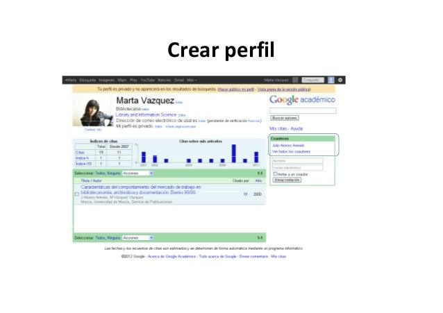 Crear perfilCrearperfil