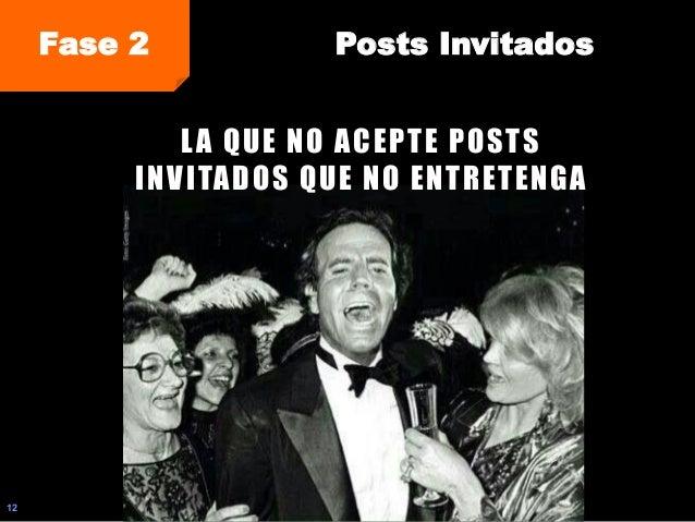 12 Fase 2 Posts Invitados LA QUE NO ACEPTE POSTS INVITADOS QUE NO ENTRETENGA